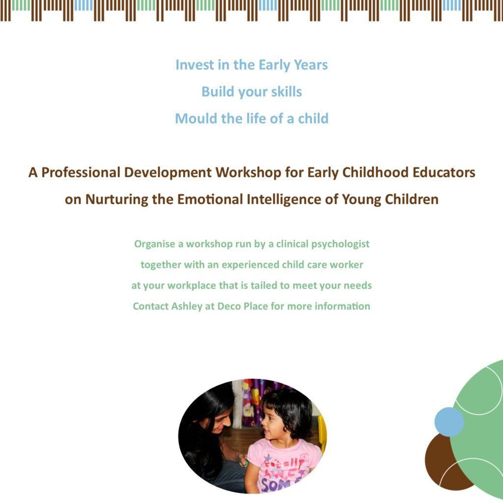 Early Childhood Education Professional Development on Emotional Intelligence